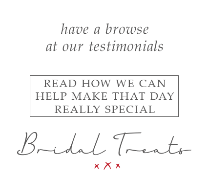 Bridal Treats Testimonials